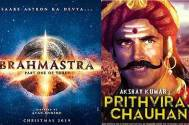 Brahmastra to clash with Prithviraj and Dhakkad in Diwali 2020