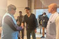 What a delightful personality, writes Tharoor after meeting Mahesh Babu