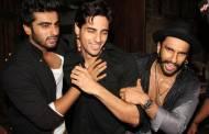 Arjun Kapoor, Siddharth Malhotra, Ranveer Singh
