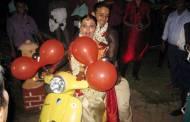 Anita Hassanandani with her hubby