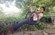 Girls like to swing...!