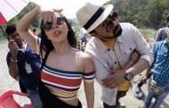 Sunny Leone and Rannvijay Singha