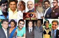 Which celeb do you want in Bigg Boss?