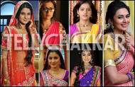 Which TV bahu looks beautiful in a saree?