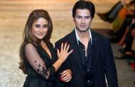 Kareena was Shahid's first lady love.