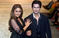 Kareena was Shahid's first lady love.