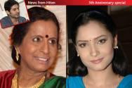 Usha Nadkarni and Ankita Lokhande