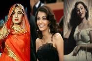 Meena Kumari,Aishwarya Rai and Madhubala