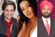 Krushna Abhishek, Tanushree Dutta and Navjot Singh Sandhu
