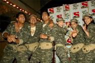 From left: Surya Chakravarthy, Mohit Daga, Harshvardhan Rane, Sanaya Irani, Shik