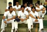 Indian Telly squad: Bottom: Skipper Manav Vij, Maninder, Naman Shaw. Top (from l