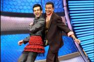 Jay Bhanushali and Mithun Chakravorty
