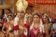 Gurmeet Choudhary (Lord Ram)And Debina Bonnerjee (Sita)