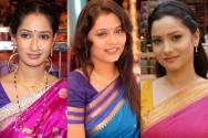 Priya Marathe, Prarthana Behere and Ankita Lokhande