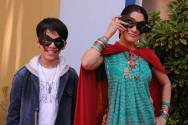 Darsheel Safary and Disha Vakani