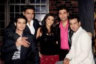Karan's koffee with Ekta Kapoor ,Ram Kapoor, Ronit Roy and Hiten Tejwani