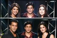 Kareena Kapoor, Priyanka Chopra,Salman Khan,Katrina Kaif, SRK