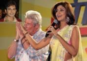 Nasir Qazi, Richard Gere and Shilpa Shetty