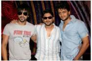 Ashish Chowdhary, Arshad Warsi and Riteish Deshmukh