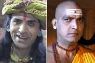 Sooraj Thapar (Dhanananda) and Manish Wadhwa (Chanakya)