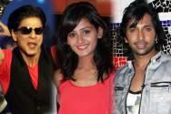 Shahrukh Khan, Shakti Mohan and Terence Lewis