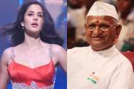 Katrina Kaif and Anna Hazare