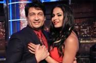 Shekhar Suman and Veena Malik