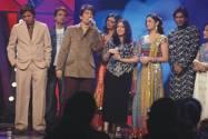 Shekhar Suman,Mahesh Bhatt ,Roshni, Sachin , Varun,Sanjeevani