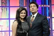 Rashmi Desai with Shekhar Suman