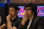 Aamir Khan and  Sonu Niigaam
