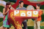 Aamir Khan along with co-hosts Darsheel and chinu at the POGO amazing kids award
