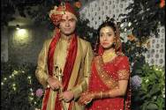 Mohit Chauhan with his wife Prarthana