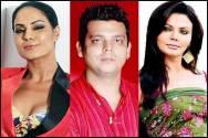 Veena Malik, Rakesh Sawant and Rakhi Sawant