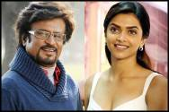 Rajnikanth and Deepika Padukone