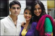 Gautam Rode, Dimple Jhangiani and Mala Salaria