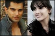 Karan Singh Grover  and Anita Hassnandani