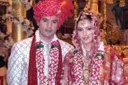 Rajeev Khandelwal with Aamna Shariff