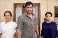 Zarina Wahab, Ajay Devgn and Leena Jumani in Himmatwala