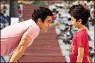 Darsheel Safary and Aamir Khan in Taare Zameen Par