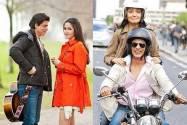 Shah Rukh Khan, Katrina Kaif and Anushka Sharma