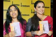 Munmun Ghosh and Vidya Balan