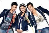 Siddharth Malhotra, Alia Bhatt and Varun Dhawan