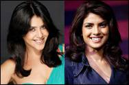 Ekta Kapoor and Priyanka Chopra