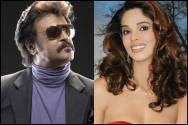 Rajnikanth and Mallika Sherawat