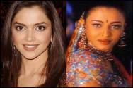 Deepika Padukone and Aishwarya Rai