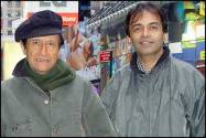 Dev Anand and Suniel Anand