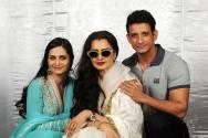Shweta Kumar, Rekha and Sharman Joshi