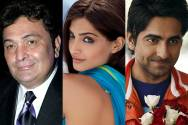 Rishi Kapoor, Sonam Kapoor and Ayushmann Khurana