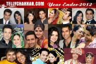 TV stars who tied the knot in 2012