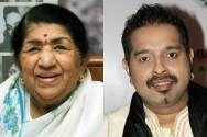 Lata Mangeshkar and Shankar Mahadevan